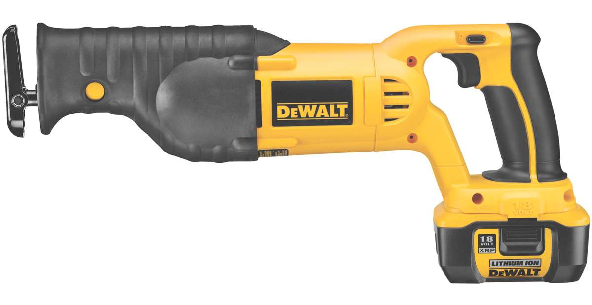 dewalt 18v reciprocating saw bare tool