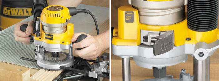 Dewalt dw618b3 12 amp 2 14 horsepower plunge base and fixed base dewalt dw618b3 greentooth Image collections