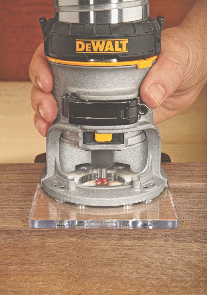 Dewalt dwp611 125 hp max torque variable speed compact router with dewalt dwp611 greentooth