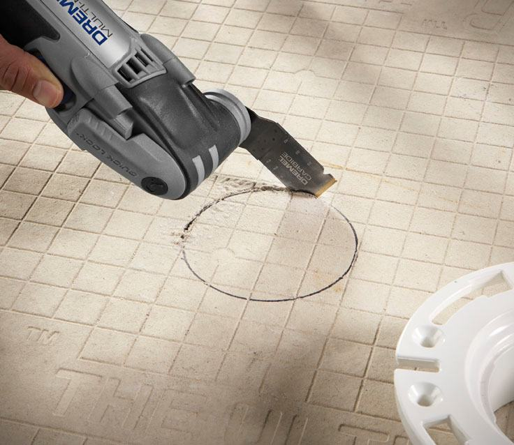 Tile cutter for oscillating tool deik battery vacuum cleaner