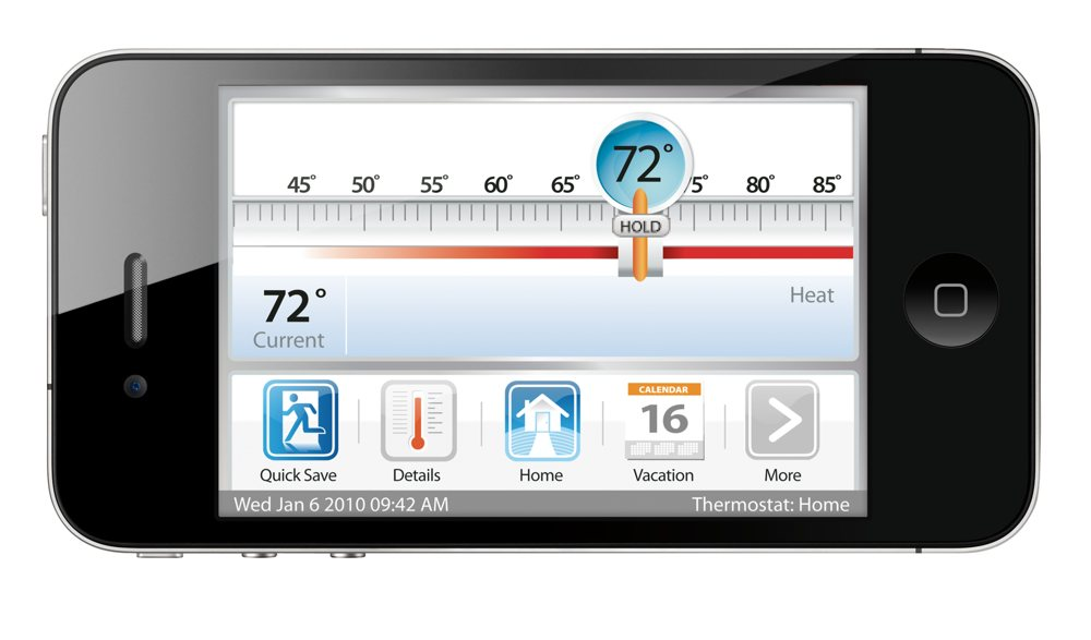 ecobee Smart Si Thermostat 2 Heat-2 Cool with Full Color