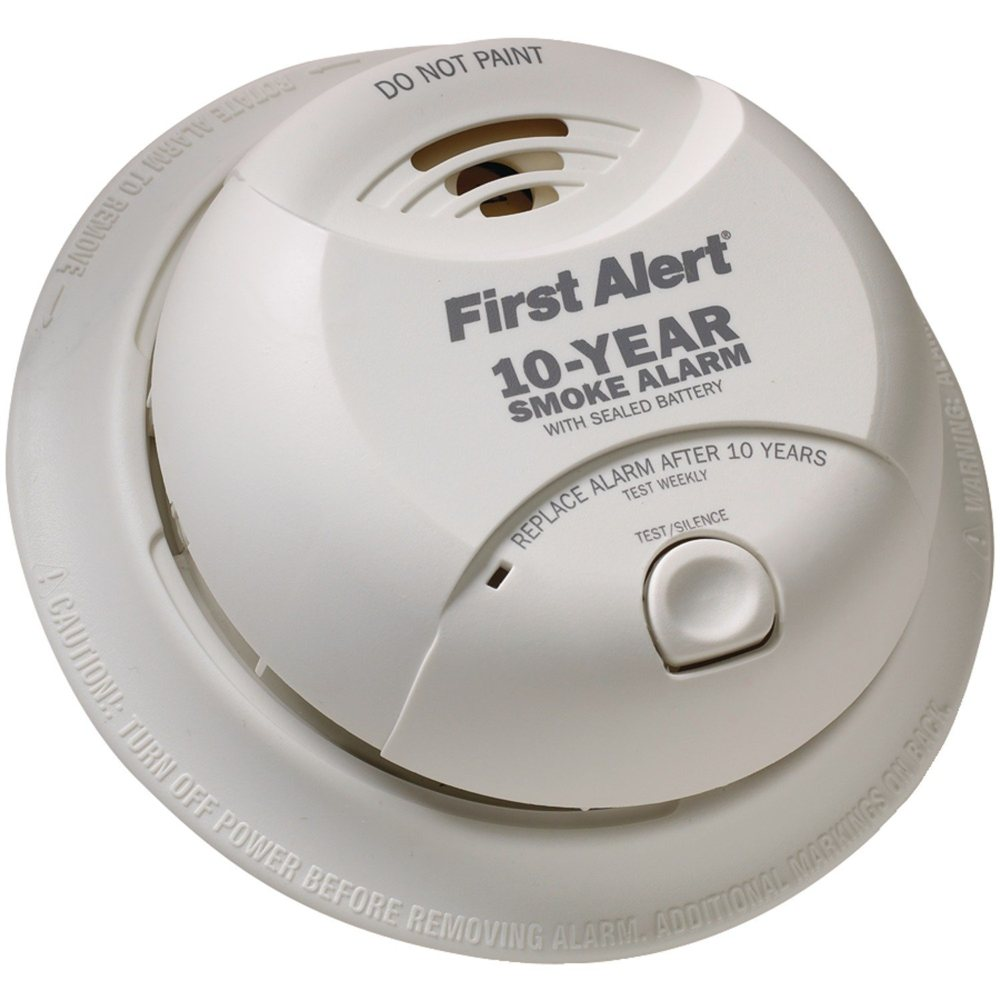 First Alert Sa340cn Smoke Alarm With Lithium Battery Combination