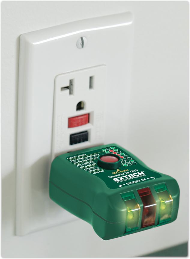 Electrical Outlet With Circuit Breaker