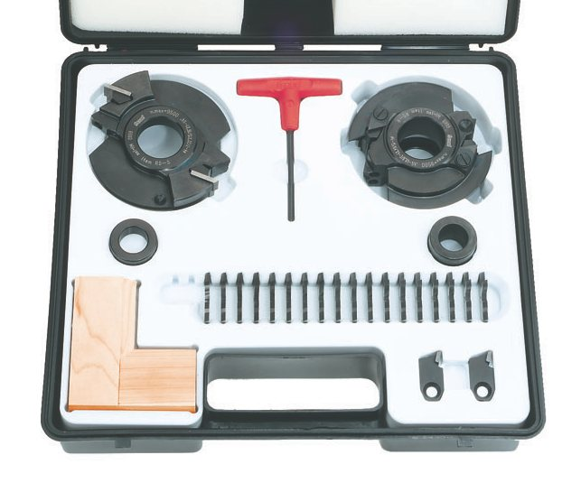 Freud Rs2000 Insert Knife Rail And Stile Shaper Cutter Set