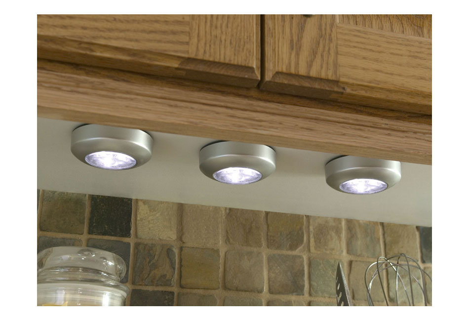 Wireless Super Bright Led Tap Light Battery Operated Under
