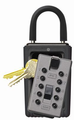 KeySafe Portable 3-key in titanium