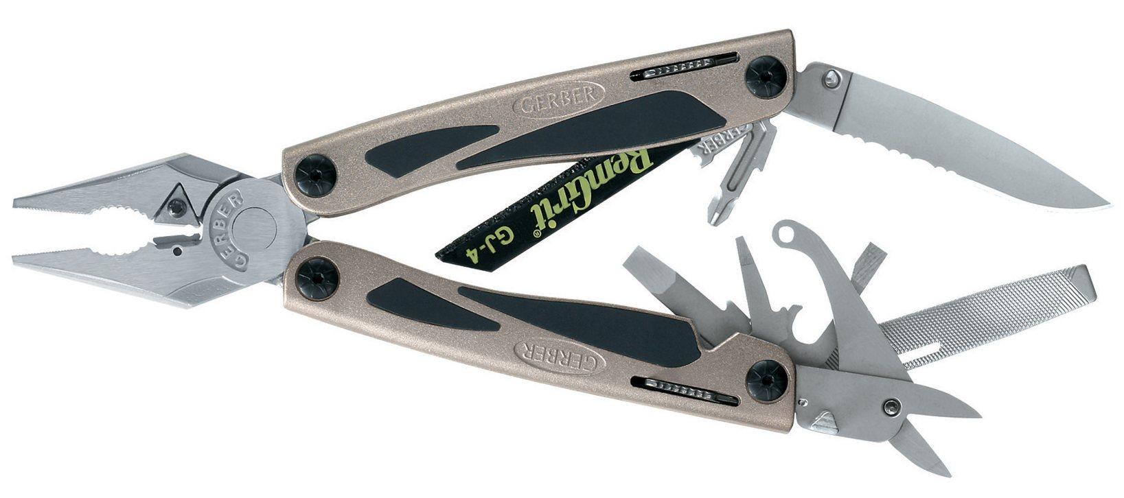 Needlenose pliers include zirconium nitride hard wire cutter insert