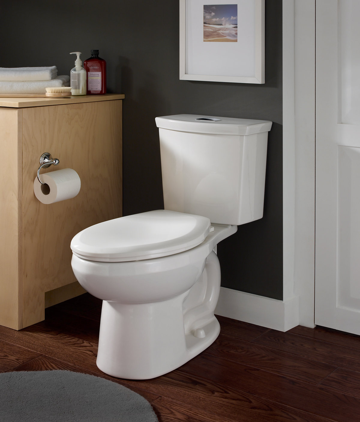 American Standard 2887216 020 H2option Dual Flush Elongated 1 0 1 6 Gpf Toilet White Kohler Toilet Amazon Com