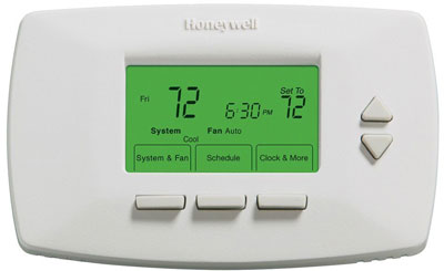 Honeywell Ret97d0d1003 U 7 Day Programmable Thermostat