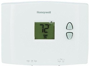 RTH111B honeywell rth111b1016 e1 digital non programmable thermostat honeywell rth110b wiring diagram at bayanpartner.co