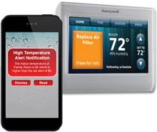 Amazon.com: Honeywell RTH9580WF Termostato inteligente WiFi ...