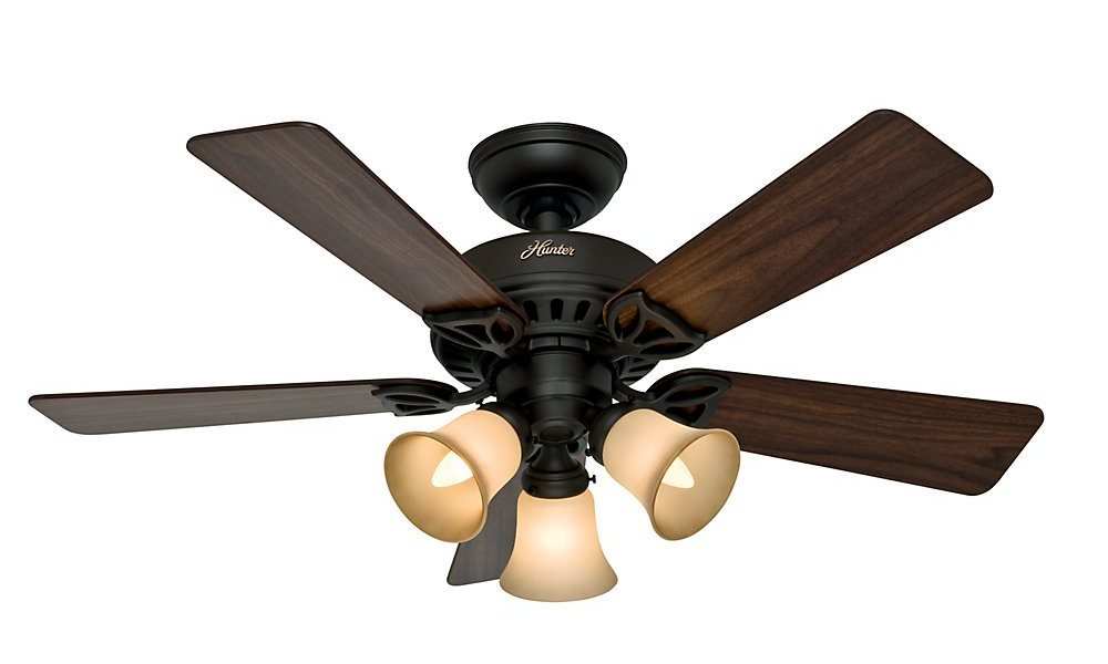 Hunter 53082 the beacon hill 42 inch ceiling fan with five walnut b00esvxo2i 53082 see larger image the hunter beacon hill ceiling fan mozeypictures Gallery