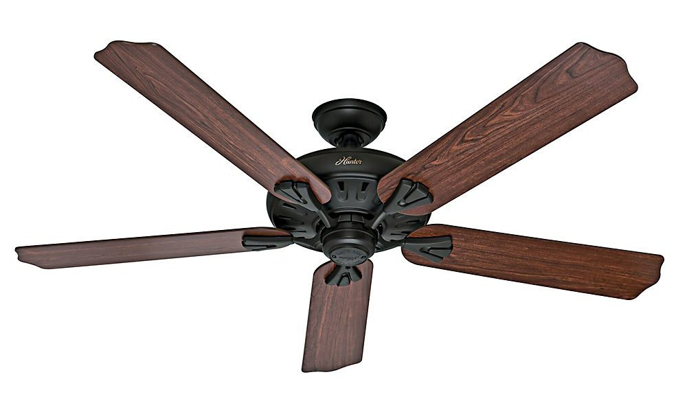 hunter 54018 the royal oak 60 inch new bronze ceiling fan with five dark cherry medium oak. Black Bedroom Furniture Sets. Home Design Ideas