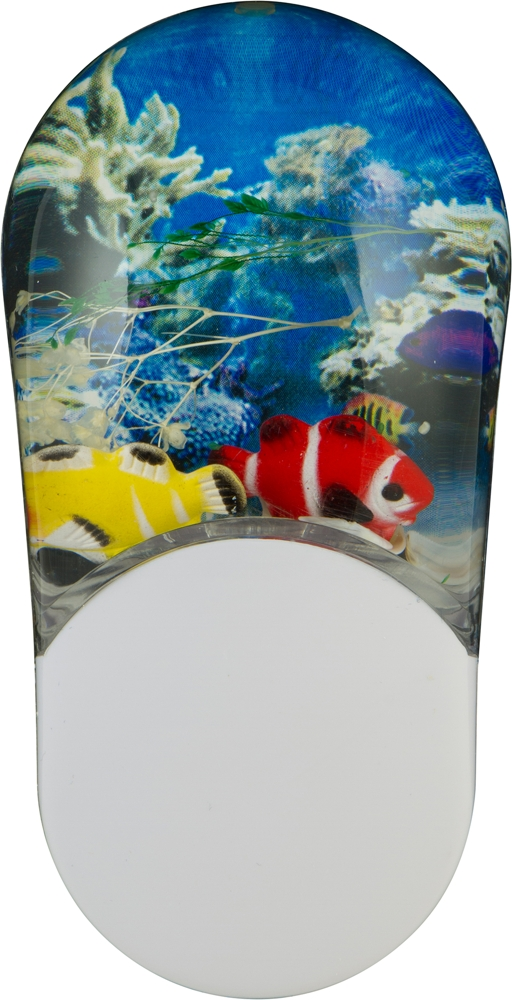 Aqualites tropical fish led night light color changing for Fish tank night light