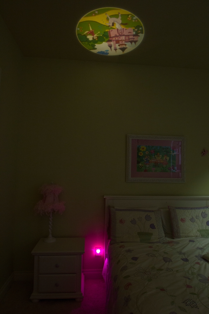 Projectables Fairy Princess Led Plug In Night