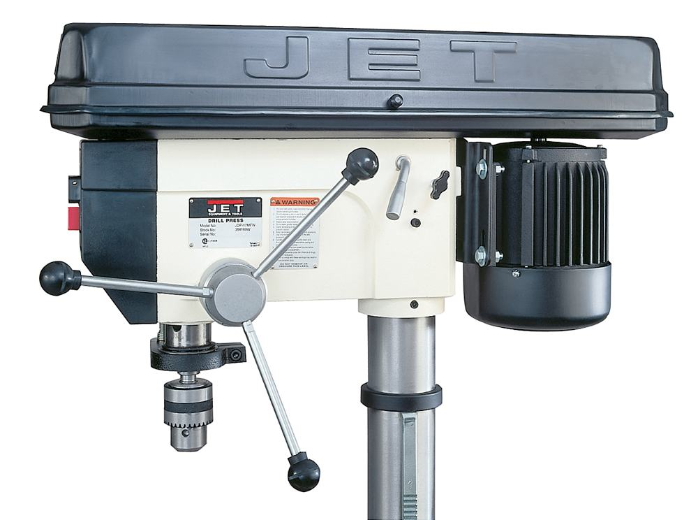 Jet Jdp 17mf 354169 Drill Press Power Stationary Drill