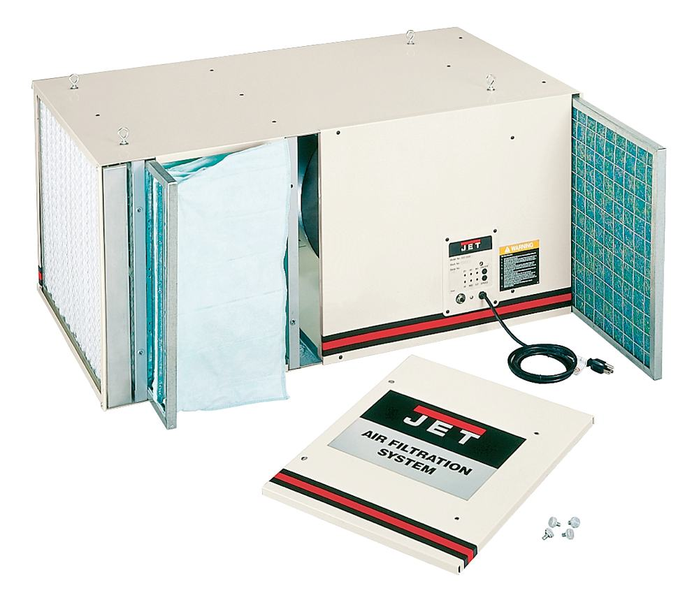 Air Filtration Units : Jet afs  cfm speed air