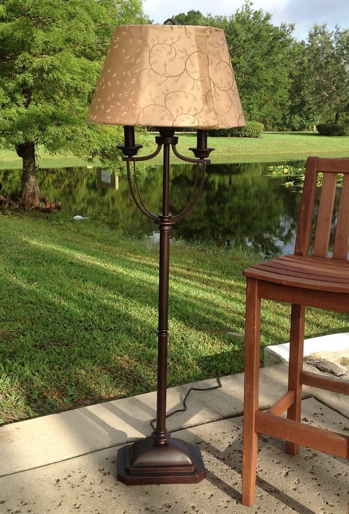 Kenroy Home Belmont Outdoor Floor Lamp Modern Floor Lamp Amazon Com