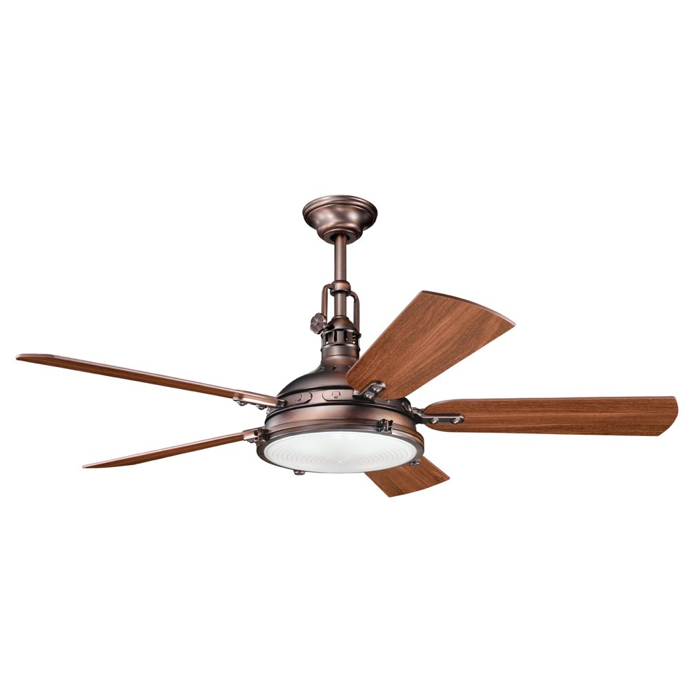 Kichler 300018obb 56 Inch Hatteras Bay Fan Oil Brushed