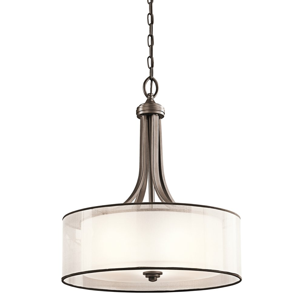 kichler 42385miz four light pendant ceiling pendant
