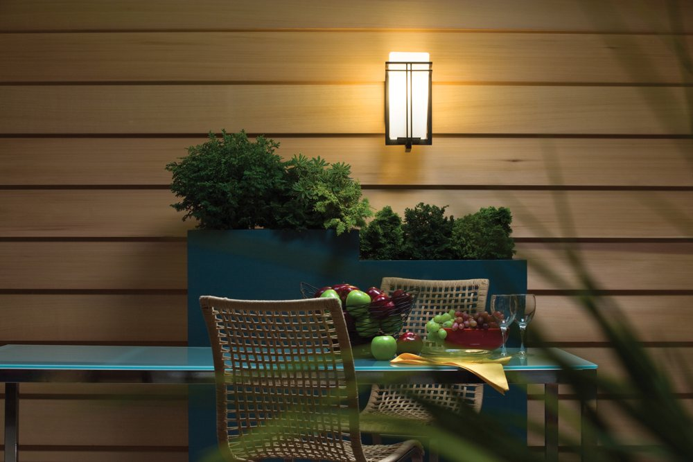 Kichler 49200bk One Light Outdoor Wall Mount Wall Porch
