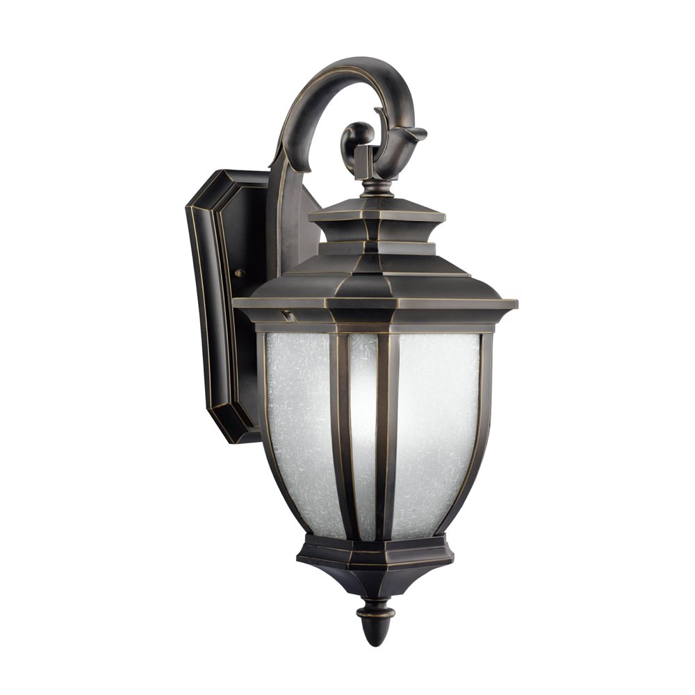 Kichler 9040rz one light outdoor wall mount wall porch for Outdoor porch light fixtures