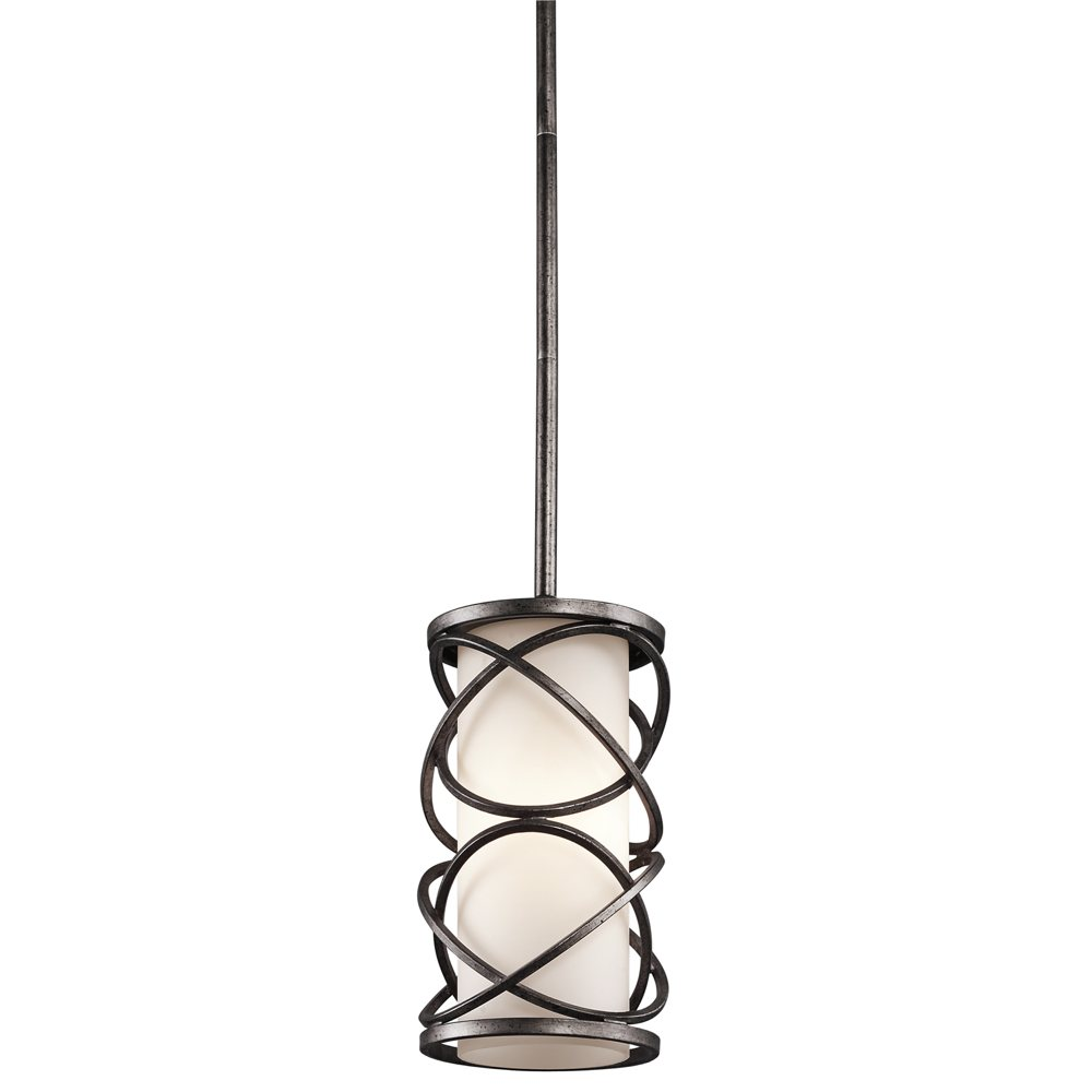 Kichler 42467wmz one light mini pendantwall mount ceiling pendant distinctive lighting for your kitchen view larger this distinctive single light mini pendant from kichlers aloadofball Images