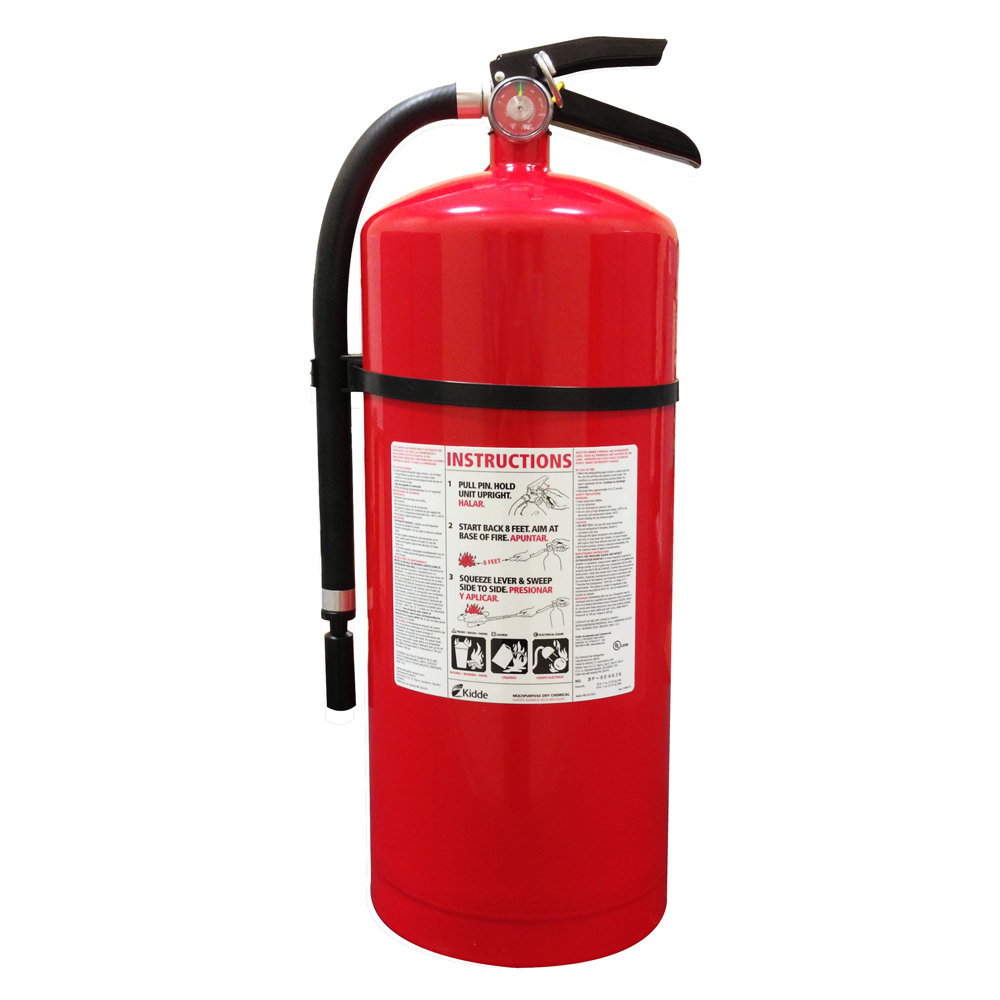 Kidde 466206 Pro 20 Mp Fire Extinguisher Ul Rated 10 A