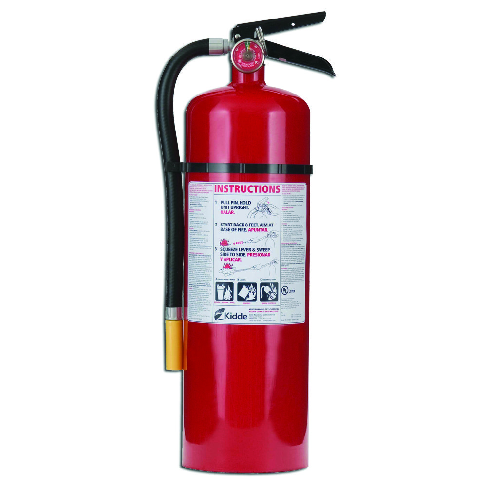 Amazon.com: Kidde 466204 Pro 10 Multi-Purpose Fire Extinguisher, UL
