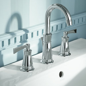 Kohler k 11076 4 cp archer lavatory faucet with 8 inch - Kohler two tone bathroom faucets ...