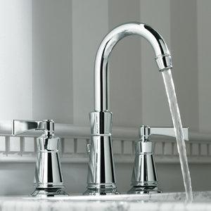 KOHLER K-11076-4-CP Archer Lavatory Faucet with 8-Inch Centers ...