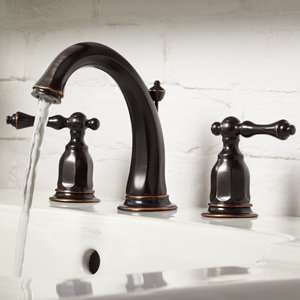 Kohler k 13491 4 2bz kelston two handle widespread - Kohler two tone bathroom faucets ...