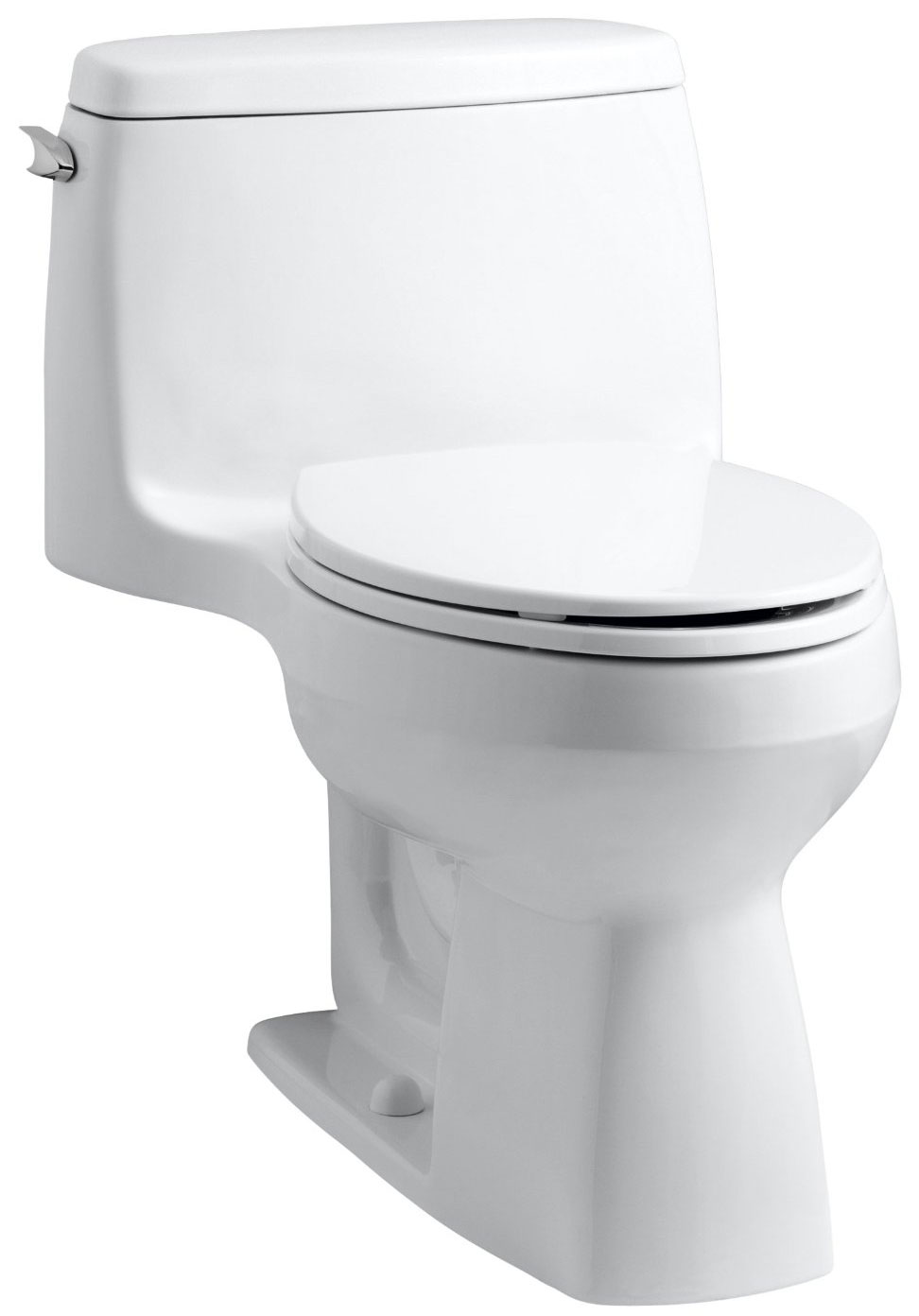 Kohler Santa Rosa >> KOHLER 3810-96 Santa Rosa Comfort Height Elongated 1.28 GPF Toilet with AquaPiston Flush ...