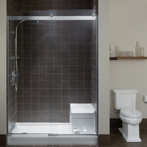 With a sleek minimalistic design and Crystal Clear glass Levity shower and bath doors enhance : crystal doors - pezcame.com