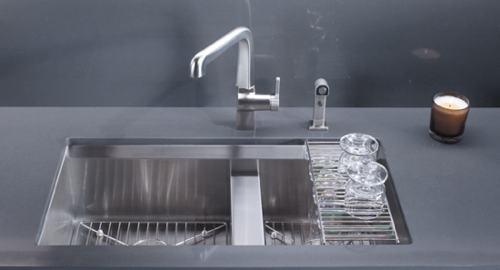 Kohler K 3672 Na 8 Degree Offset Double Basin Kitchen Sink