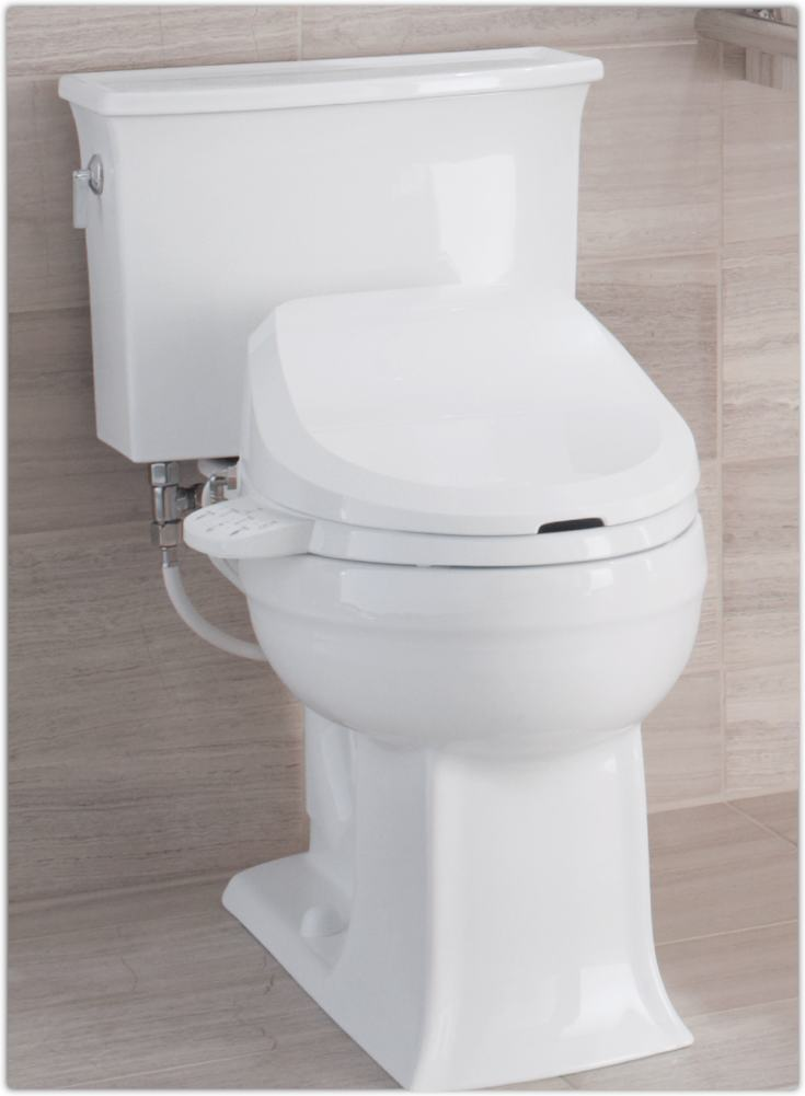 Kohler K-4737-96 C3-125 Elongated Bidet Toilet Seat with Tank Heater ...