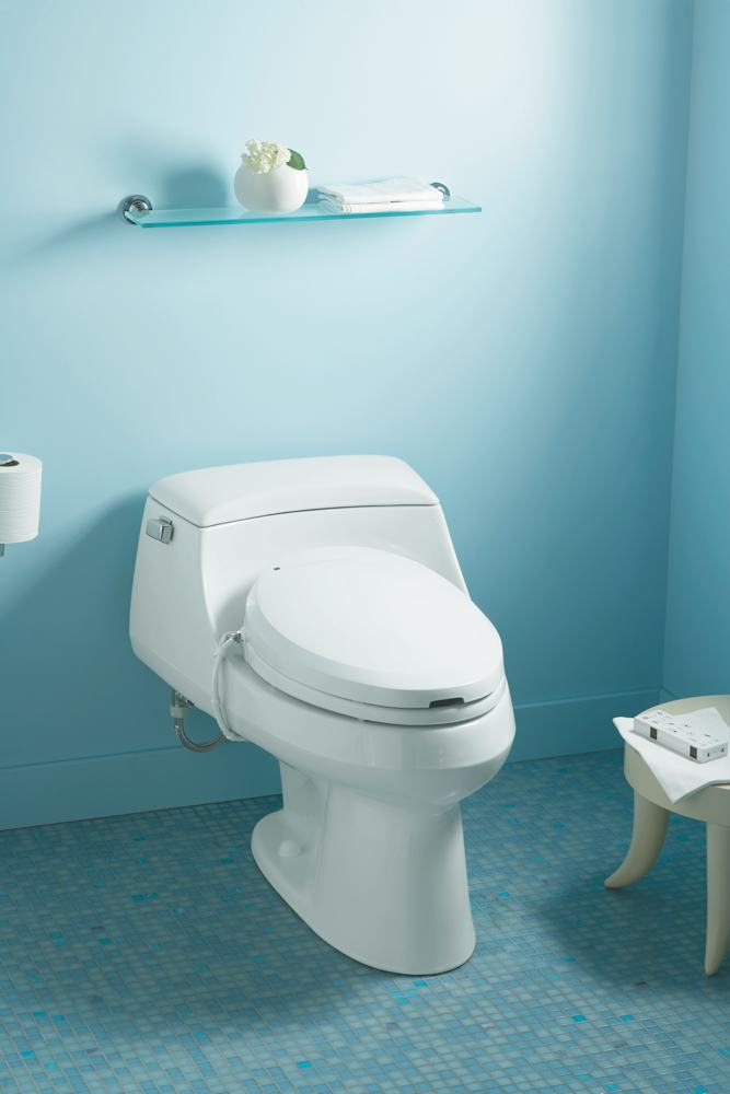 Kohler K 4709 0 C3 200 Elongated Warm Water Bidet Toilet
