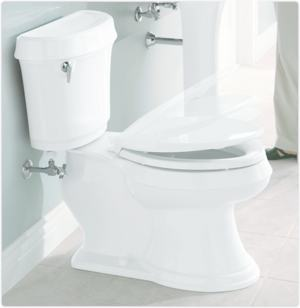 KOHLER K-4636-0 Cachet Quiet-Close with Grip-Tight Bumpers ...