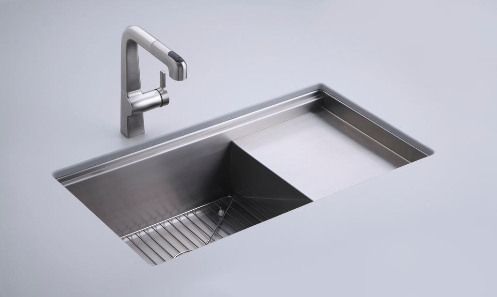 ... 33-Inch Stainless Steel Kitchen Sink - Single Bowl Sinks - Amazon.com