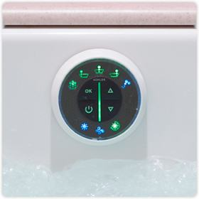KOHLER K-1174-G-0 Underscore 6-Foot Acrylic BubbleMassage Bath ...