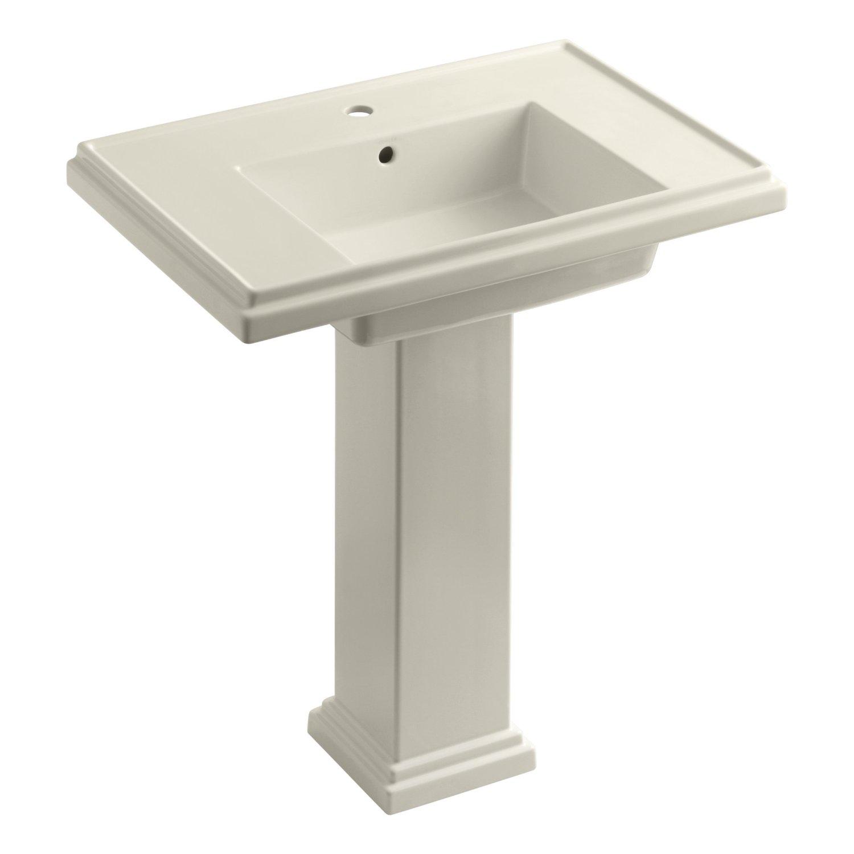 Kohler K 2845 1 96 Tresham 30 Inch Pedestal Bathroom Sink