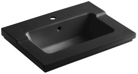 K-2979-1-0 Tresham one-piece surface and integrated lavatory