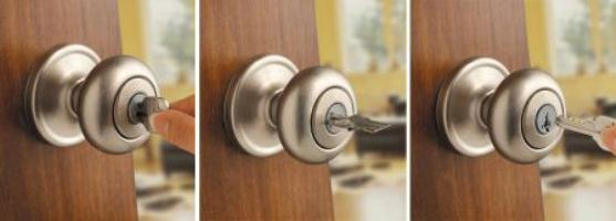 Juno entry knob featuring SmartKey technology