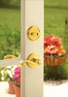 Lido entry lever with SmartKey technology