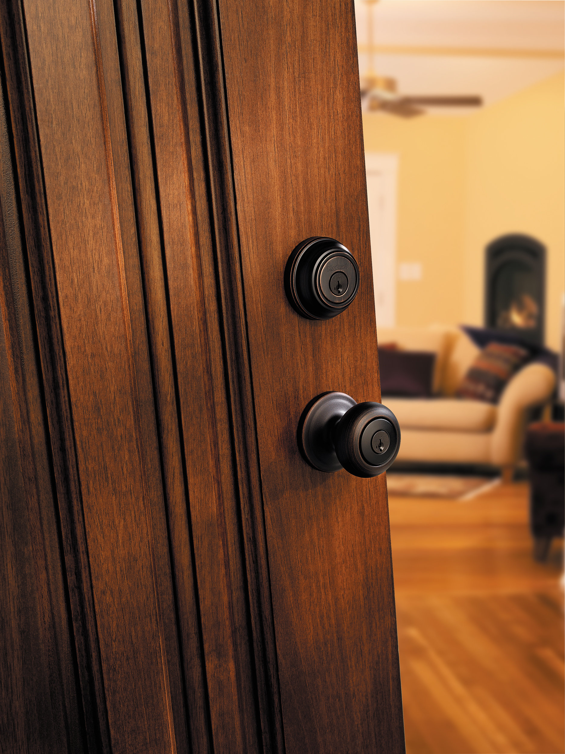 Kwikset 980 Single Cylinder Deadbolt Featuring Smartkey