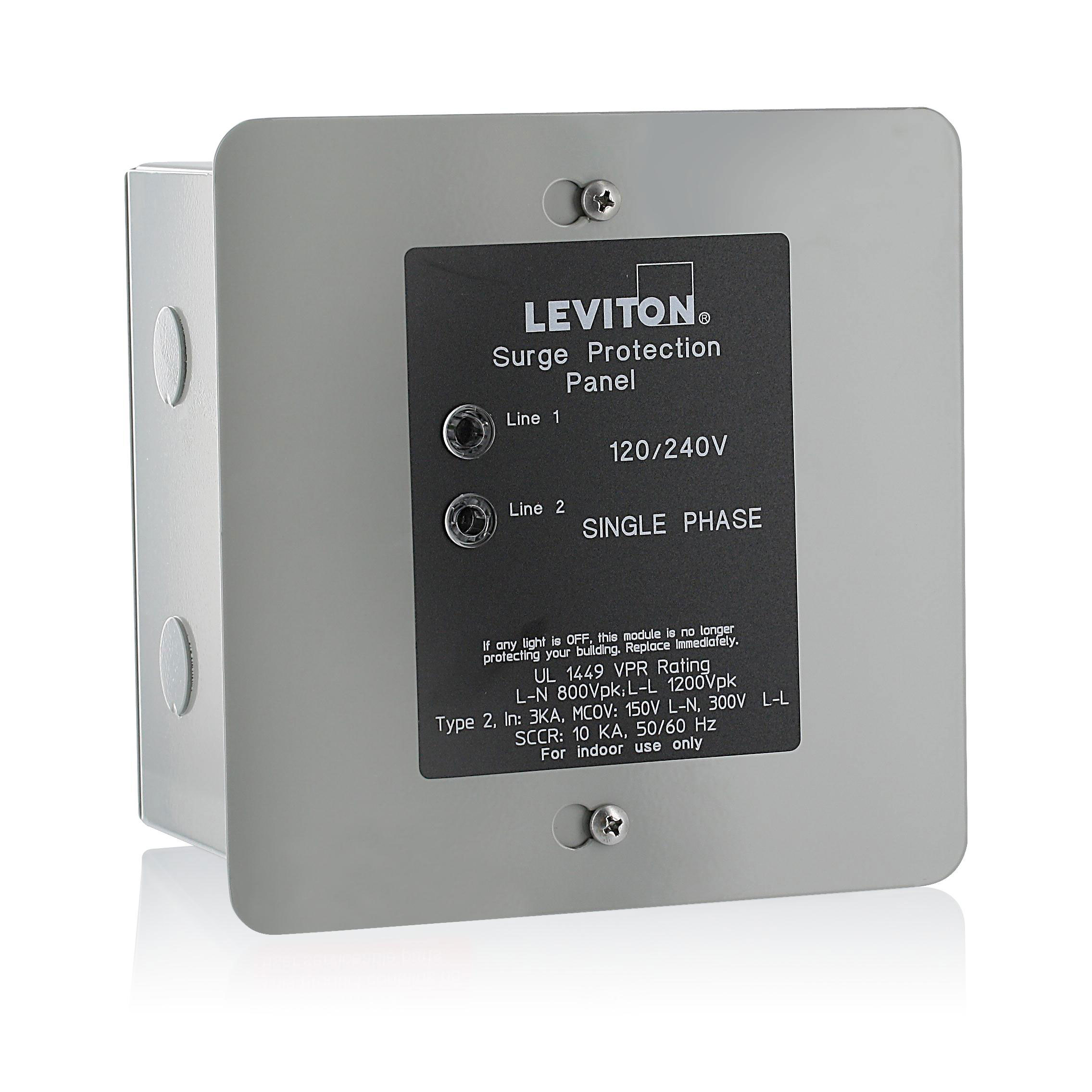 V Surge Protector With Switch Home Depot