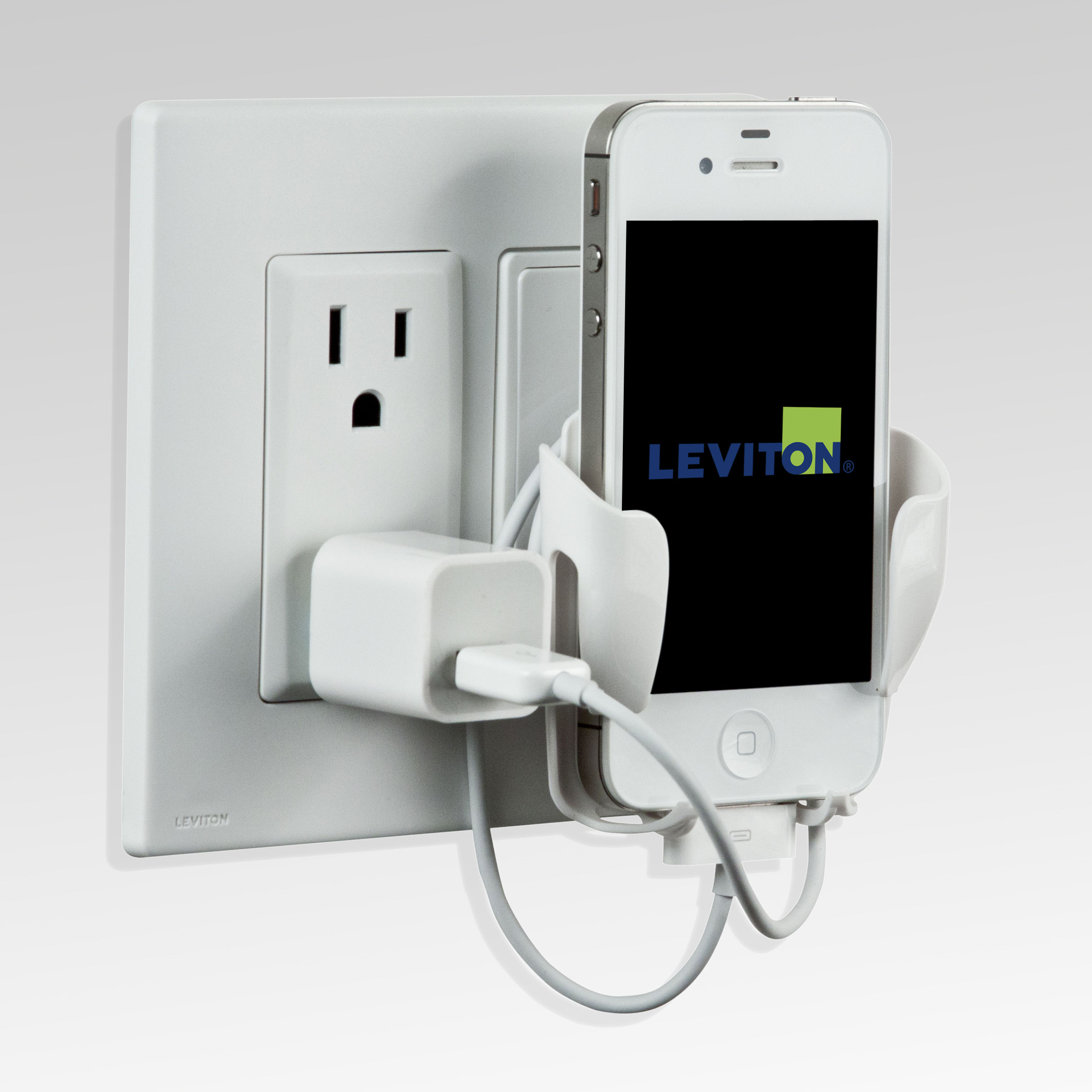 Amazon.com: Leviton 47112-RNS Renu Mobile Device Station, Navajo ...