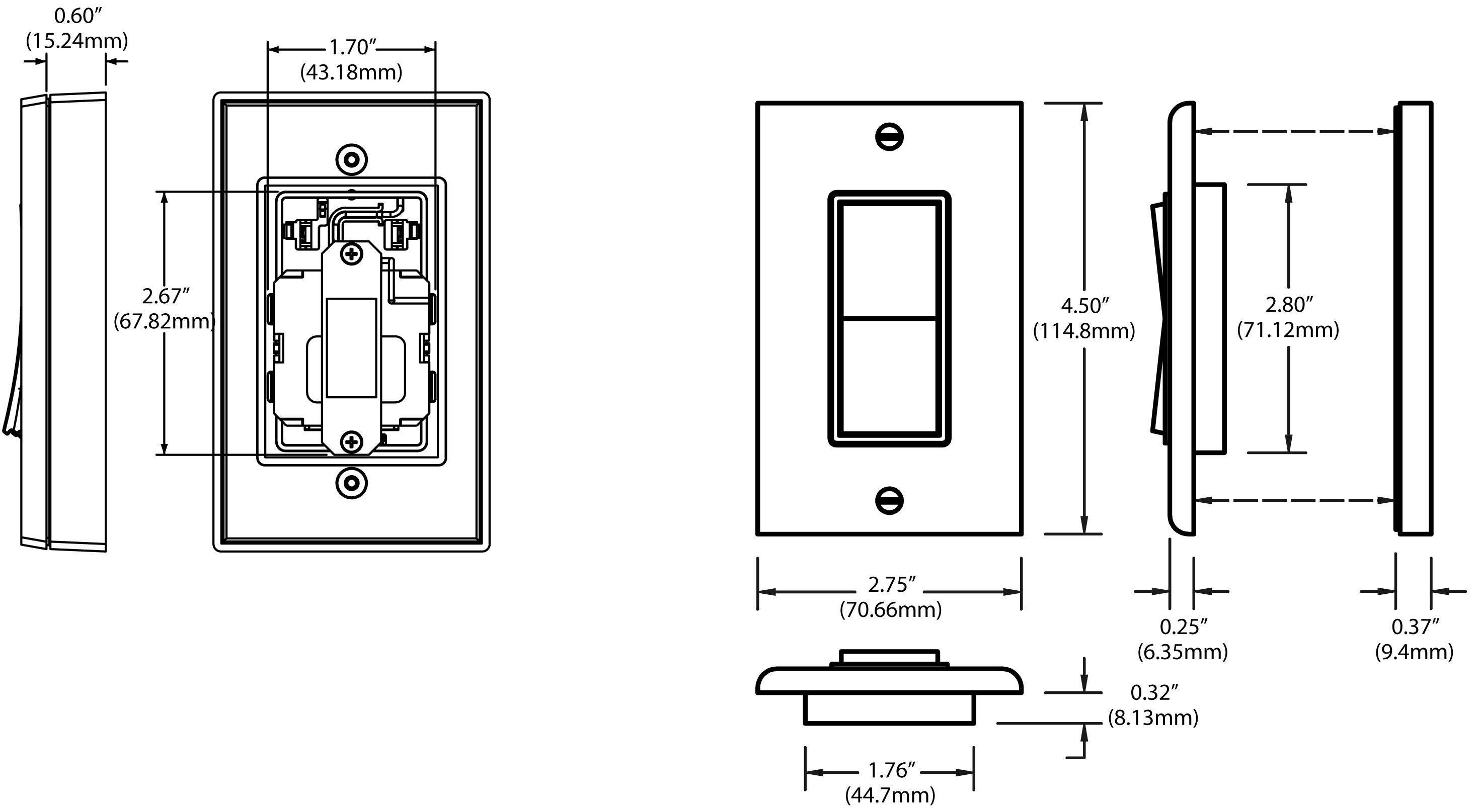 Wiring Diagram Remote Control Light Switch 42 Jammer Circuit V390024919 Leviton Wss0s P0w Wireless Self Powered White
