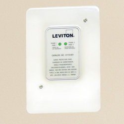 leviton 51110 1 120 240 volt panel protector 4 mode protection rh amazon com