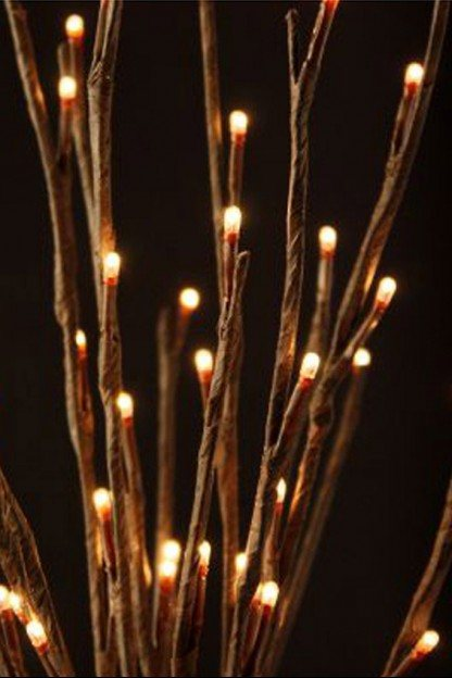 The Light Garden WLWB60 ElectricCorded Willow Branch with 60